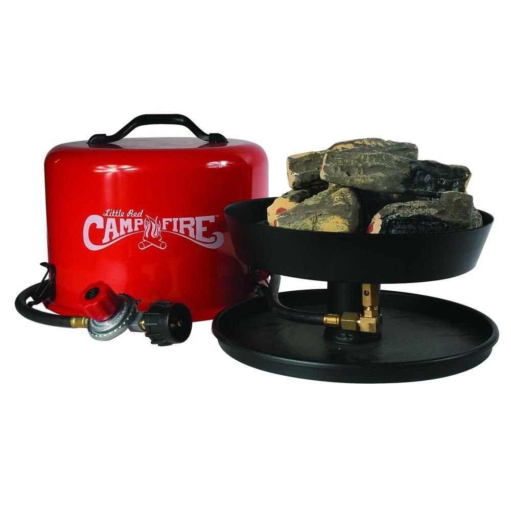 No need to gather firewood - you can have a campfire wherever you go. Camco