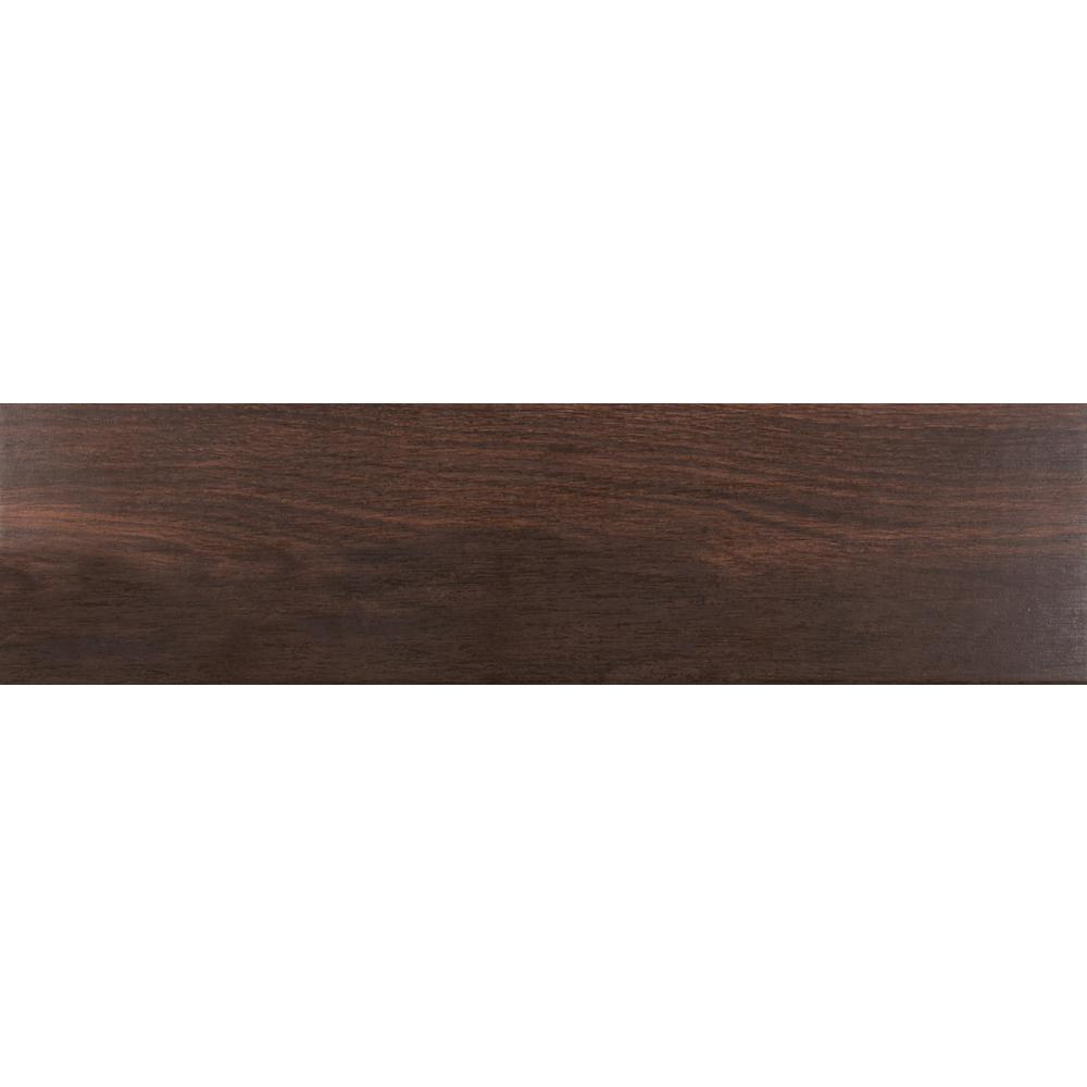 Ms International Scala Brown 6 In X 36 In Glazed Porcelain Floor And Wall Tile Nhdscabro6x36