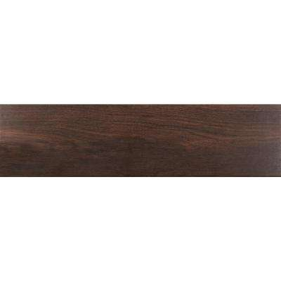 Scala Brown 6 in. x 36 in. Glazed Porcelain Floor and Wall Tile (13.50 sq. ft. / case)