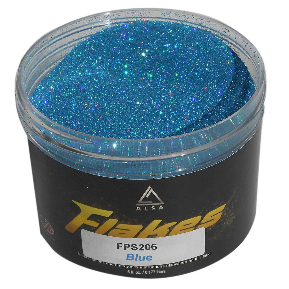 6 oz. Blue-2 Flakes Paint Additive