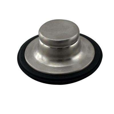 Disposal Stopper in Satin Nickel