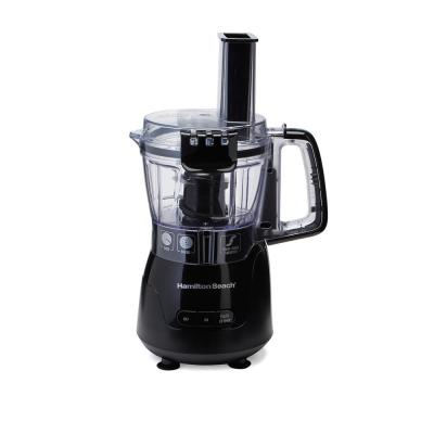 4-Cup 5-Speed Black Stack & Snap Compact Food Processor