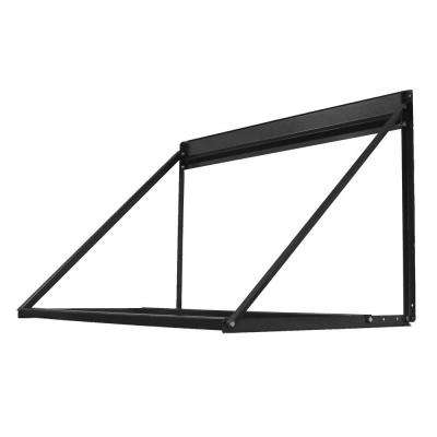 28 in. H x 48 in. W 4-Tire Wall-Mount Tire Rack