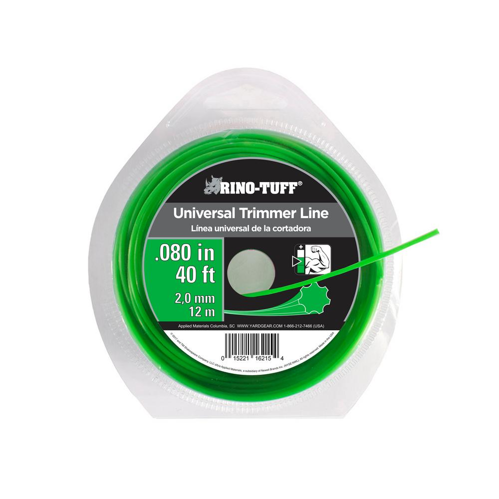 Rino-Tuff Gear 0.080 in. x 40 ft. Universal Trimmer Line