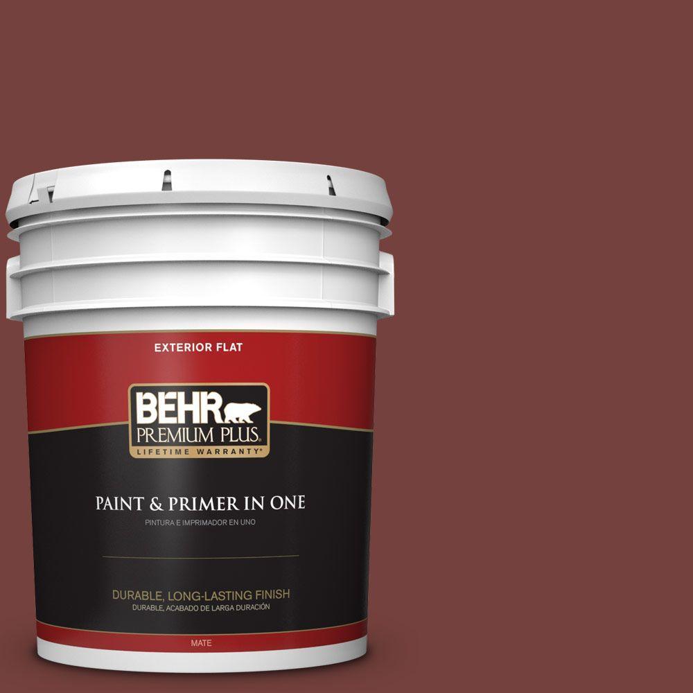 BEHR Premium Plus 5-gal. #PMD-89 Decadence Flat Exterior Paint