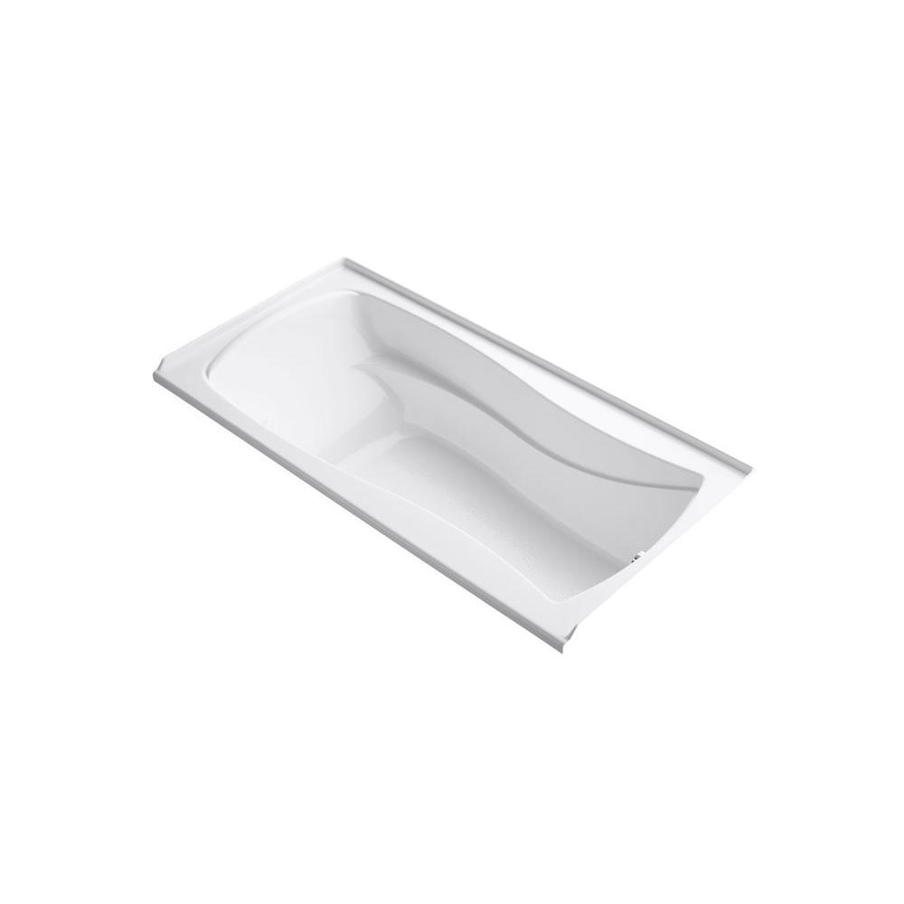 KOHLER Mariposa 6 ft. Air Bath Tub in White-K-1257-GRW-0 - The ...