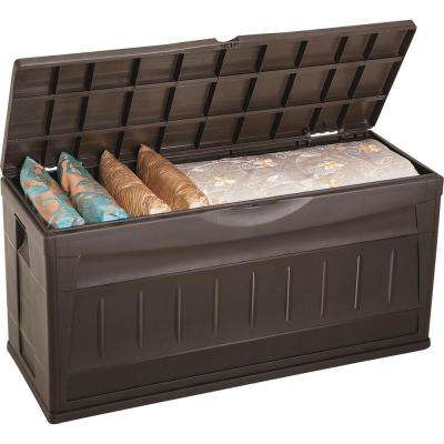 Rimax Plastic Patio Outdoor Deck Bench