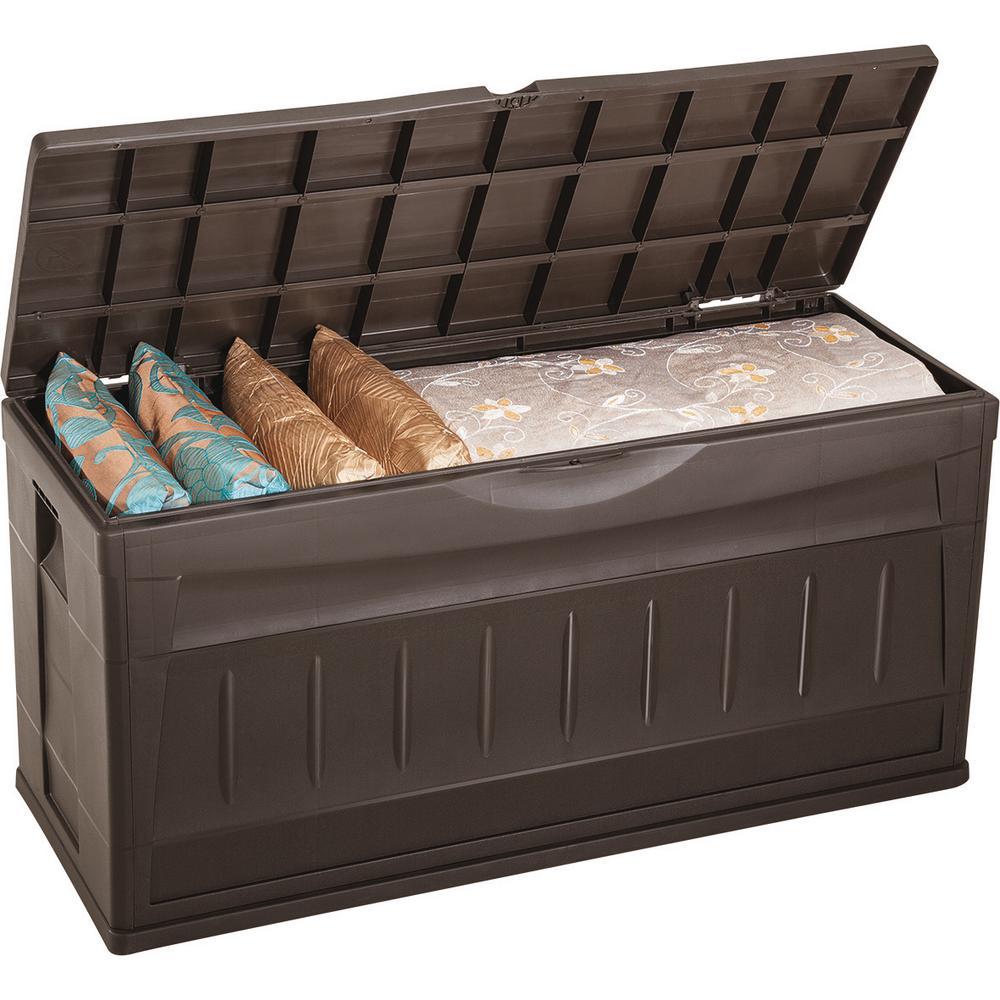 Rimax Plastic Patio Outdoor Deck Bench