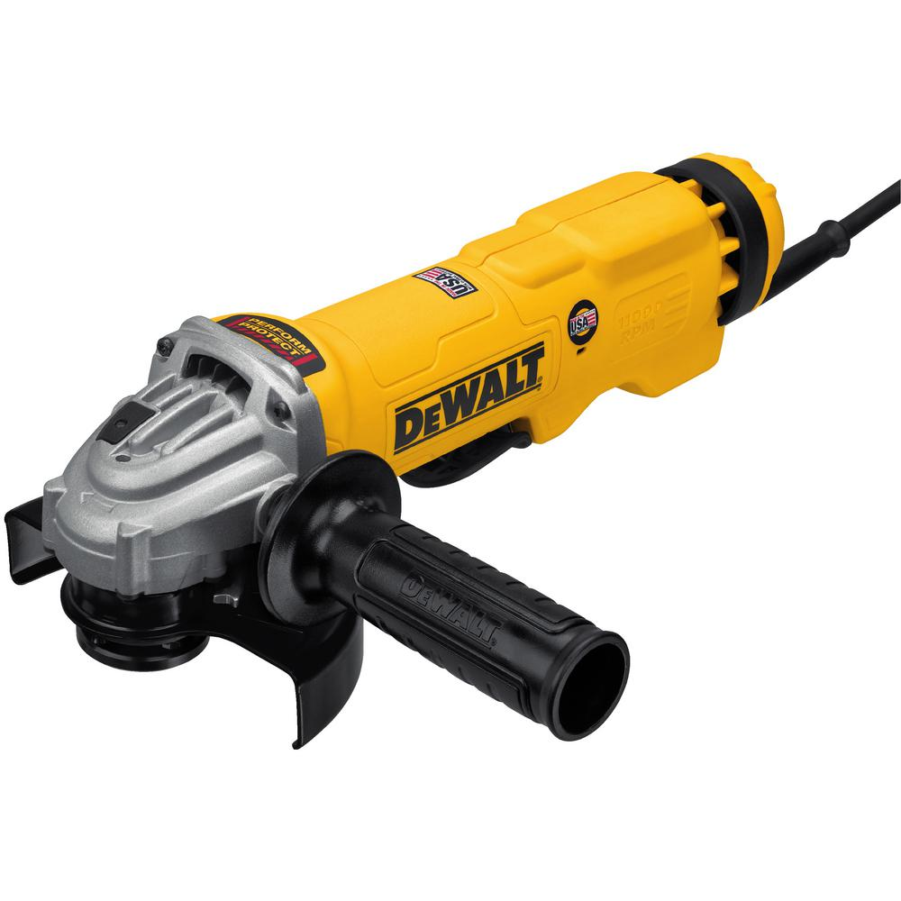 13 Amp Corded 4-1/2 in. to 5 in. Angle Grinder with