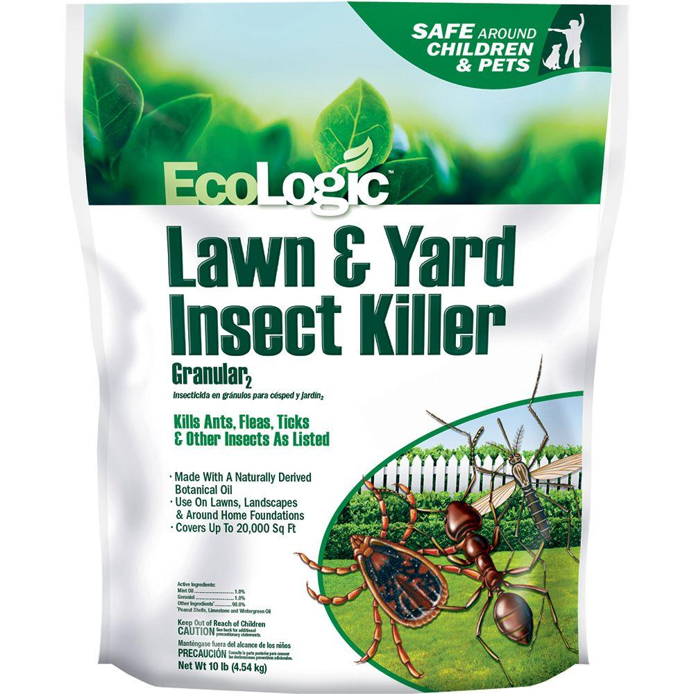 ecologic 10 lb lawn and yard insect killer granular hg 75005 1