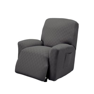 Grey Newport Recliner Stretch Slipcover