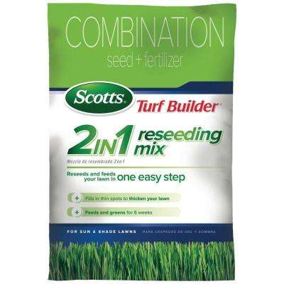 22 Lb. Turf Builder 2-in-1 Sun and Shade Reseeding Grass Mix Seed