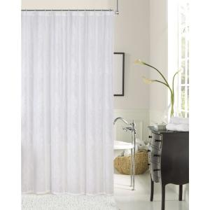 Click here to buy  Elizabeth 72 inch Ivory Embroidered Shower Curtain.
