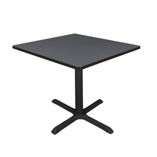 Regency Cain Grey Square 42 in. Breakroom Table TB4242GY