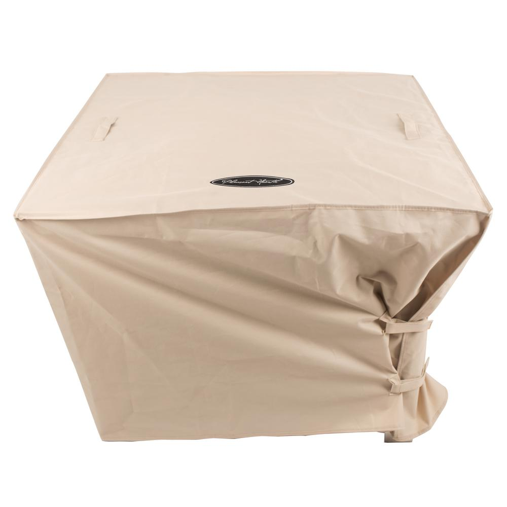 Pleasant Hearth Large 38 in. Square Fire Pit Cover