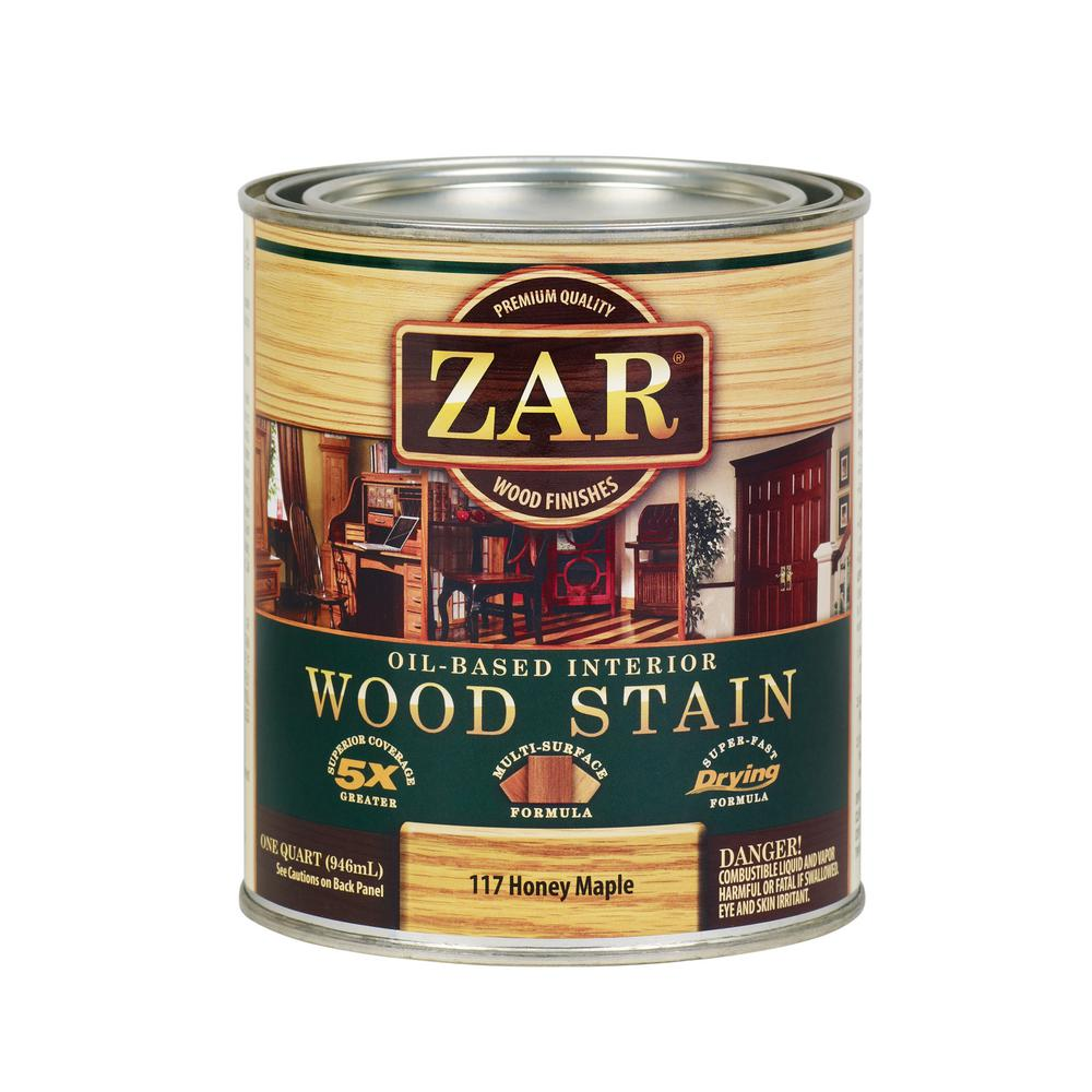 117 1 qt. Honey Maple Wood Interior Stain (2-Pack)