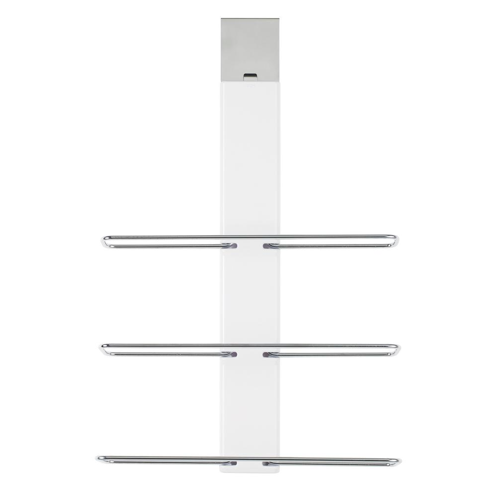 Over The Door Towel Rack Bathroom: OXO Good Grips 5.5 In. 3-Bar Over-the-Door Towel Rack In