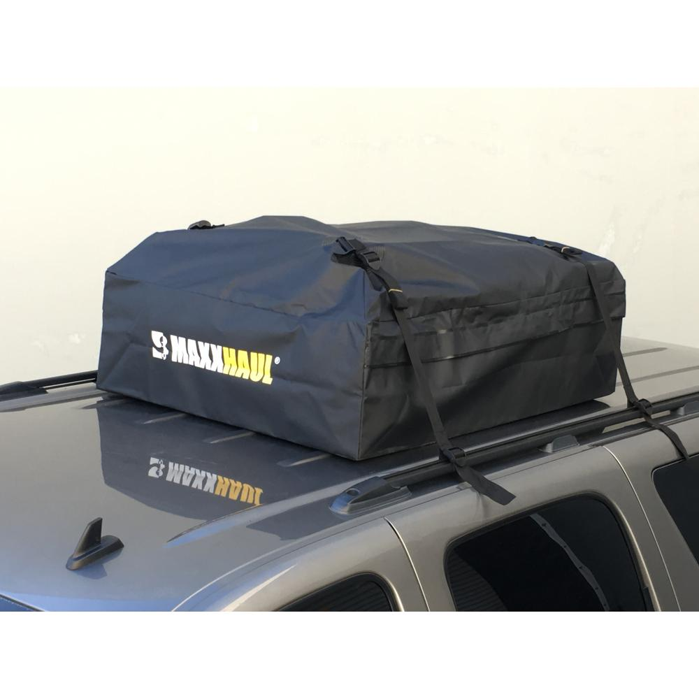 Maxxhaul Water Resistant Rooftop Cargo Bag 70117 The Home Depot