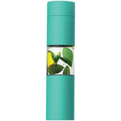 Flavor U See 15 oz. Mint Water Bottle