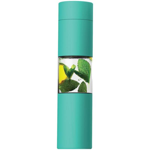 ASOBU Flavor U See 15 oz. Mint Water Bottle