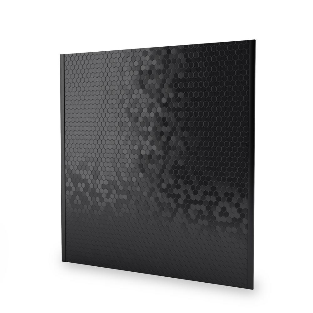 Inoxia Speedtiles Hexagonia Sb Black Stainless 2961 In X