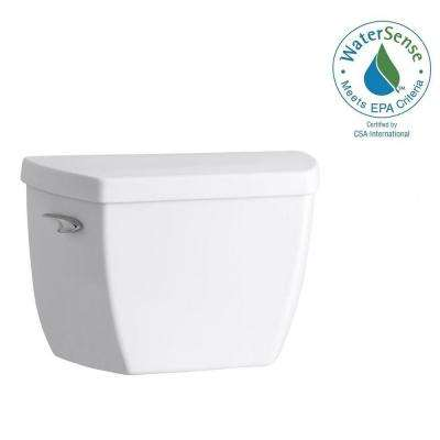 Highline 1.1 GPF Single Flush Toilet Tank Only in White