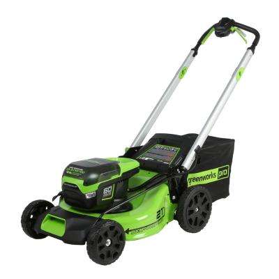 PRO 21 in. 60-Volt Lithium-Ion Cordless Battery Self Propelled Mower (Tool-Only)