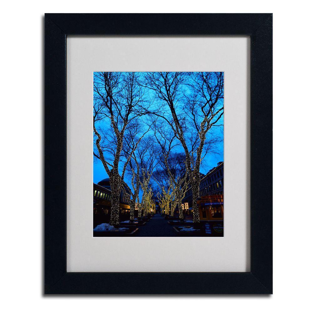 Trademark Fine Art 11 in. x 14 in. Boston 2 Matted Framed Art