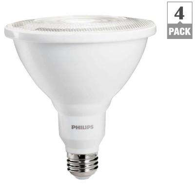 100W Equivalent Bright White Indoor/Outdoor Dimmable PAR38 Ambient LED Flood Light (4-Pack)