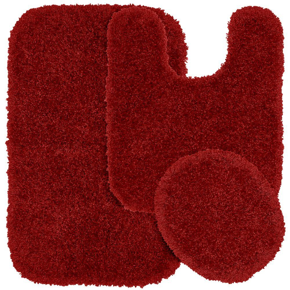 Garland Rug Serendipity Chili Pepper Red 21 In X 34 In Washable