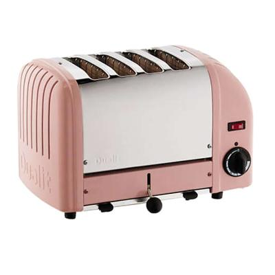 Dualit-New Gen 4-Slice Petal Pink Wide Slot Toaster with Crumb Tray