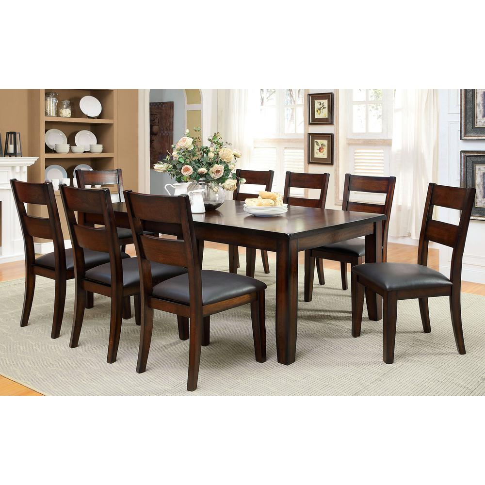 William S Home Furnishing Inson I Dark Cherry Cottage Style Dining Table Cm3187t The Depot