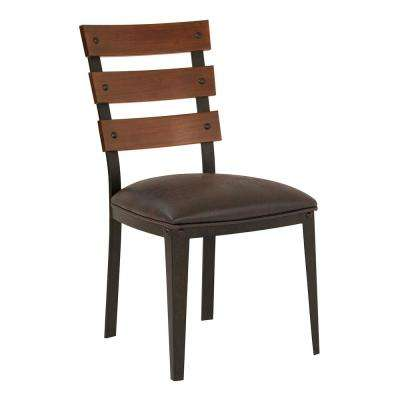Hughes Bandero Expresso Fabric Dining Chair (Set of 2)