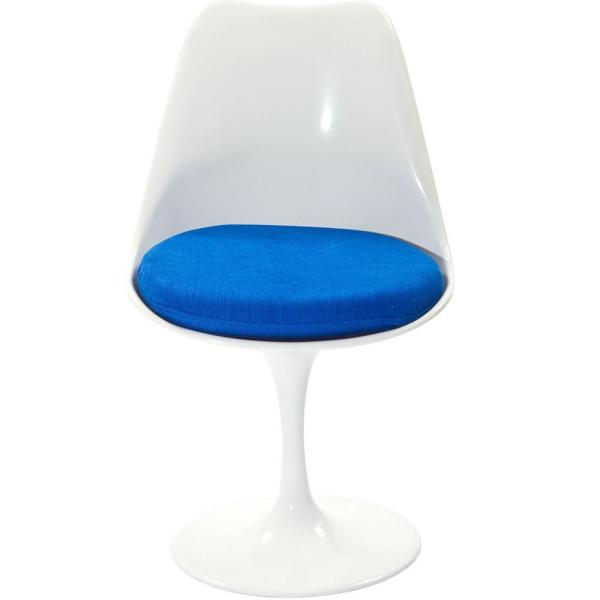 MODWAY Lippa Blue Dining Fabric Side Chair