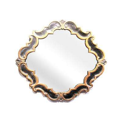 Portia Copper and Brushed Mirror