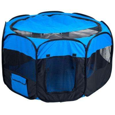 42 in. x 42 in. Pet Pop-Up Playpen Deluxe with Canvas Carrying Bag