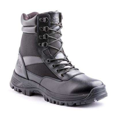 Javelin 8 in. Size 8.5 Black Soft Toe Leather Work Boot