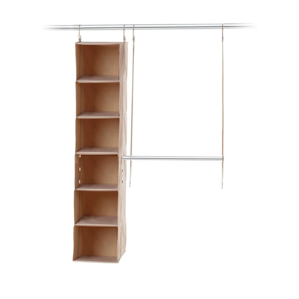 closetMAX SYSTEM 4 ft. - 6 ft. 2-Piece Starter Closet Kit-A-05665 ...