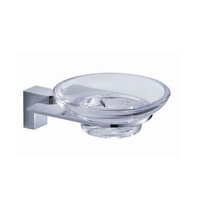 Generoso Soap Dish in Chrome