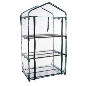 Pure Garden 27.5 inch x 19 inch x 50 inch 3 Tier Greenhouse by Pure Garden