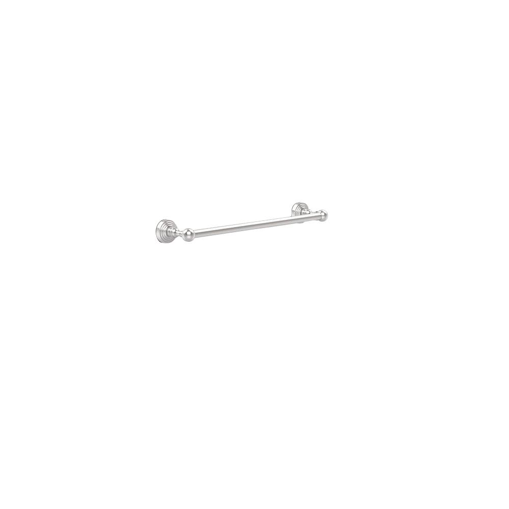Allied Brass Waverly Place Collection 18 in. Back to Back Shower Door Towel Bar in Polished Chrome