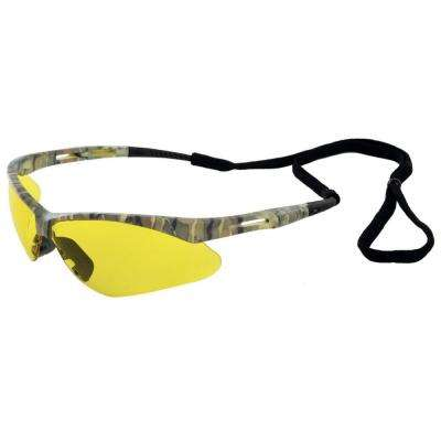 Octane Eye Protection, Camo Frame/Amber Anti Fog Lens