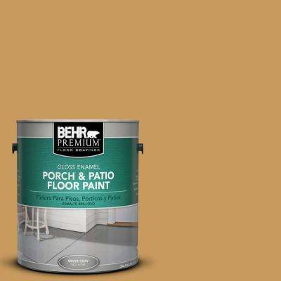 1 gal. #M280-6 Solid Gold Gloss Porch and Patio Floor Paint