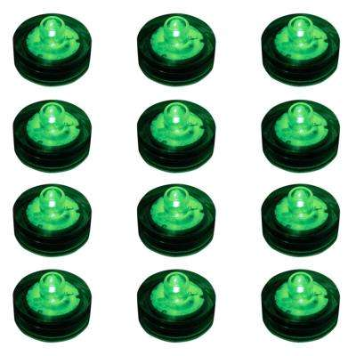 Green Submersible LED Lights (Box of 12)