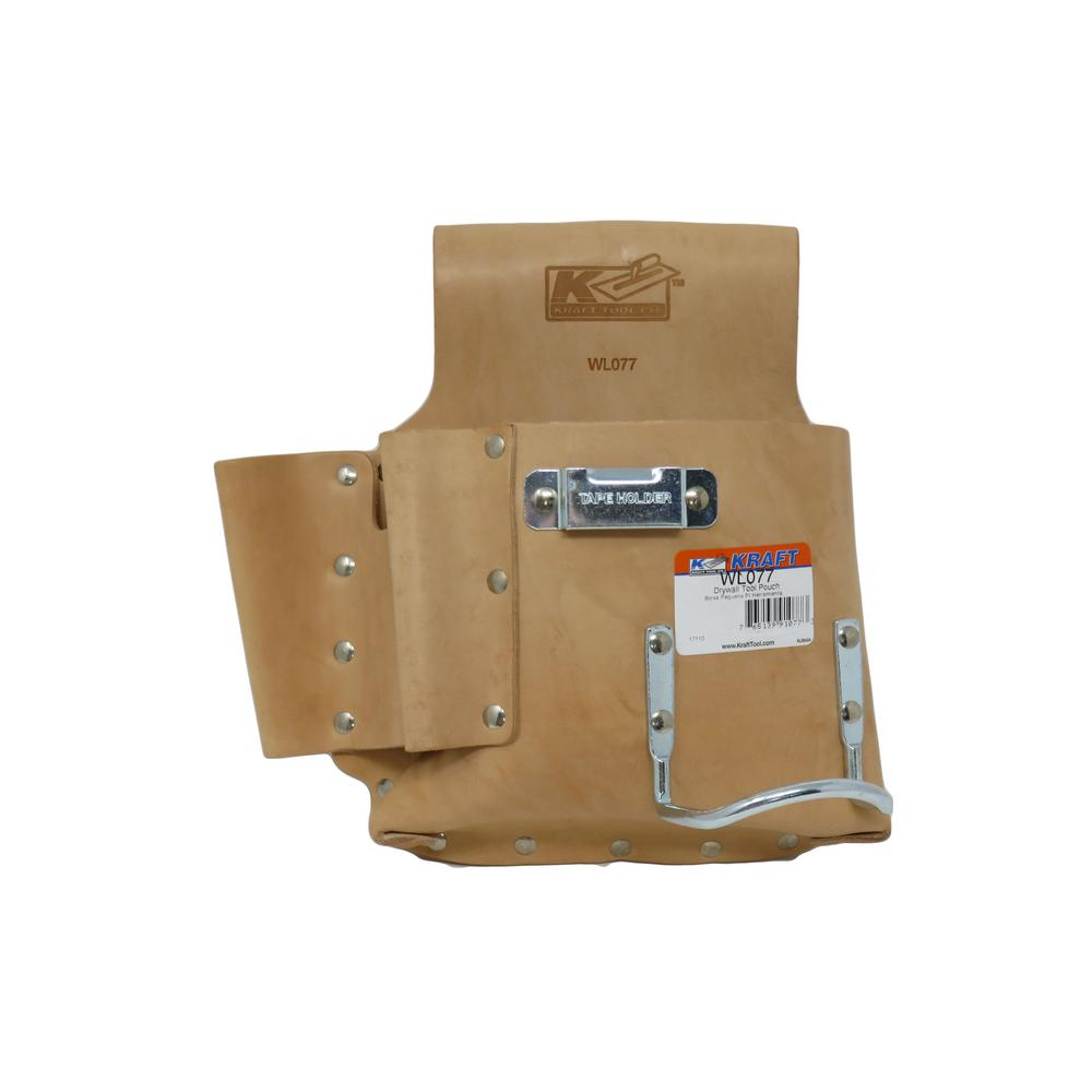 Kraft Tool Co Drywall Tool Pouch Wl077 The Home Depot