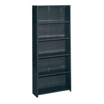 36 in. W x 85 in. H x 12 in. D Commercial Grade Closed 6 Shelf Steel Shelving Unit