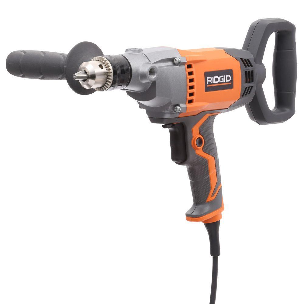 9 Amp Corded 1/2 in. Spade Handle Mud Mixer