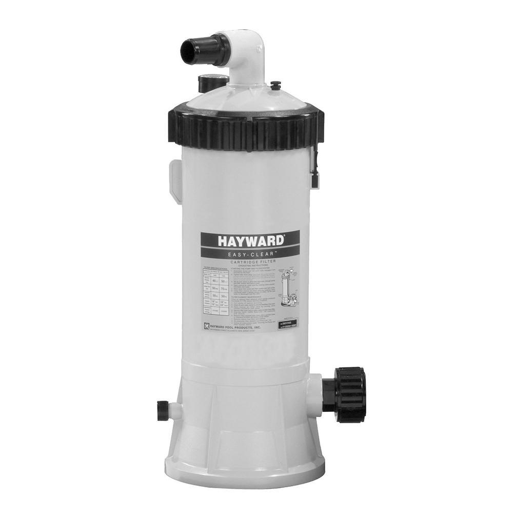 Hayward 40 Sq Ft Horsepower Above Ground Pump Pool Filter