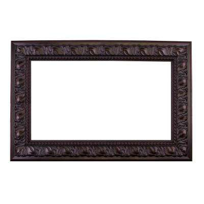 Tuscan 24 in. x 30 in. Mirror Frame Kit in Oil Rubbed Bronze - Mirror Not Included