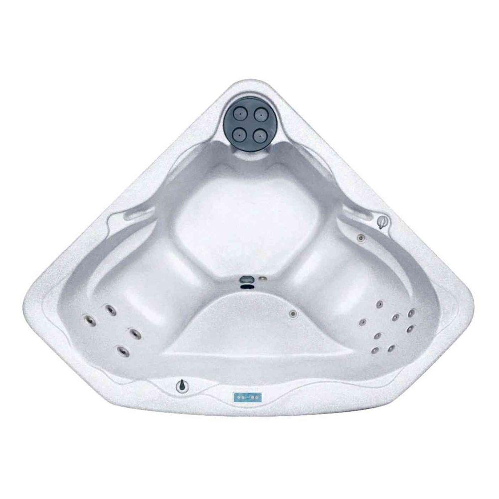 Lifesmart Bahama Rock Solid Series Plug and Play Spa with 15 Jets Includes FREE Energy Saving Value Package-DISCONTINUED
